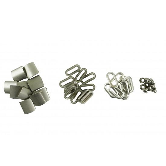 Silver Buckle Sets (10 Sets)
