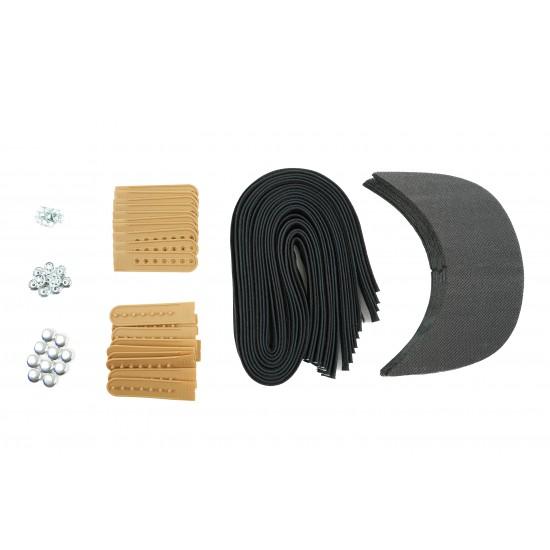 Army Tan Plastic Snapback Cap Making Kit (10 Kit)