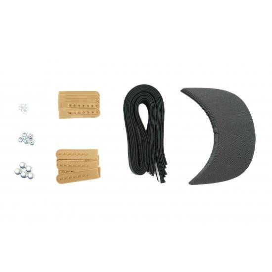 Army Tan Plastic Snapback Cap Making Kit (5 Kit)