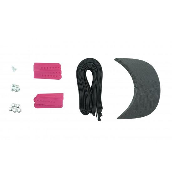 Barbie Pink Plastic Snapback Cap Making Kit (5 Kit)