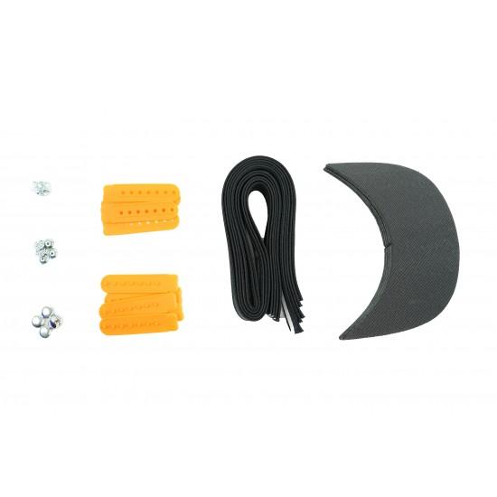 Yellow Plastic Snapback Cap Making Kit (5 Kit)