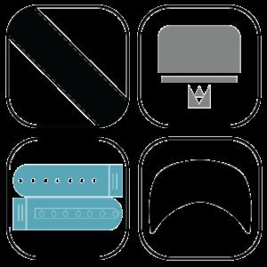 Plastic Snapback Cap Kits
