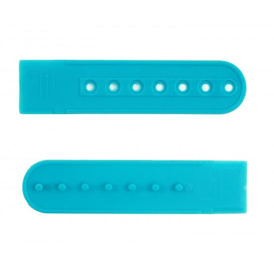 Barbie Blue Plastic Snapback Cap Making Kit (10 Kit)