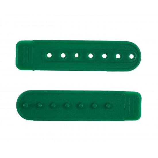 Kelly Green Plastic Snapback Cap Making Kit (5 Kit)