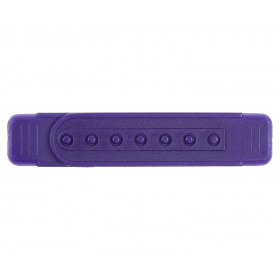 Purple Plastic Snapback Straps (10 Set)