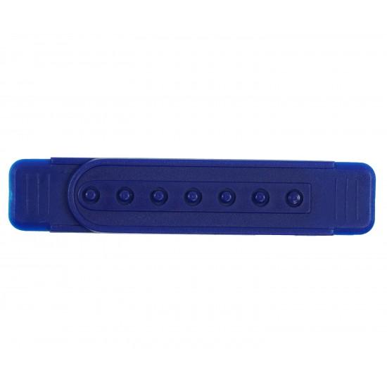 Royal Blue Plastic Snapback Straps (10 Set)