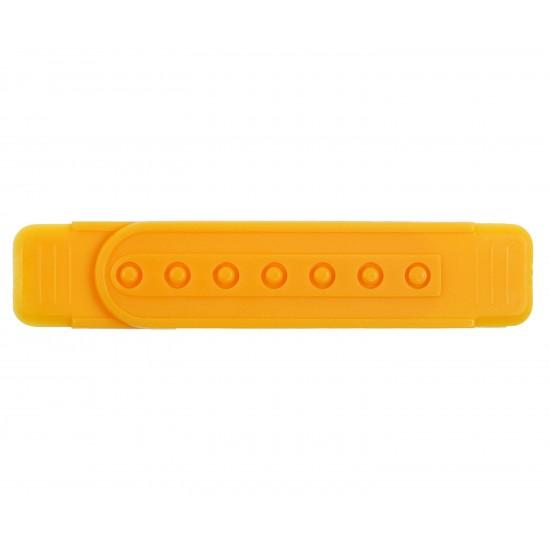 Yellow Plastic Snapback Straps (10 Set)